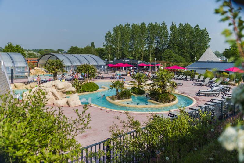 Camping normandie avec piscine couverte 5 toiles les iles - Camping normandie avec piscine couverte ...