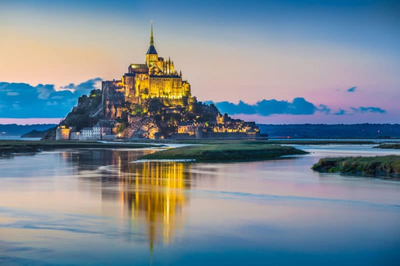 Panorama Mont St Michel