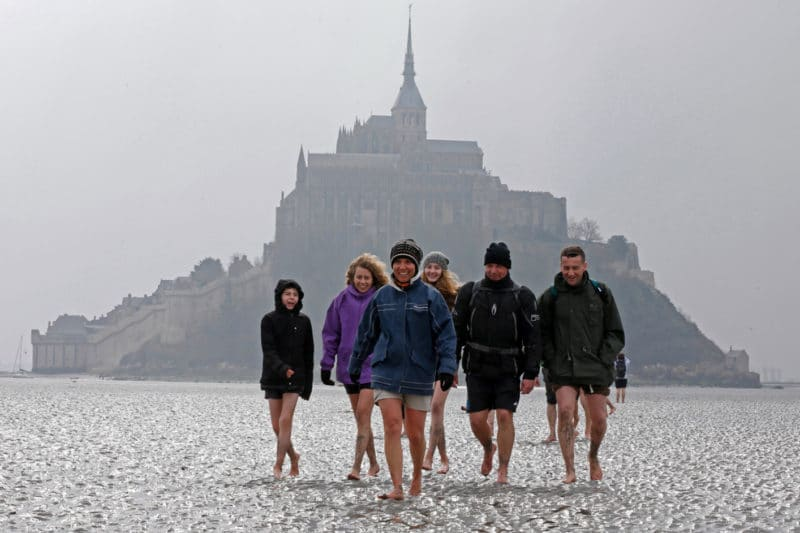 Crossing of Mont St Michel