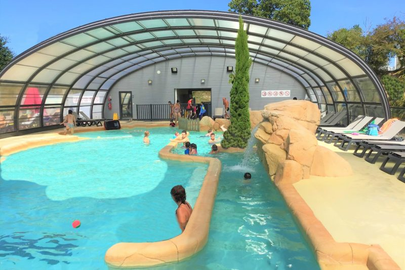 Schwimmbad Camping les Iles